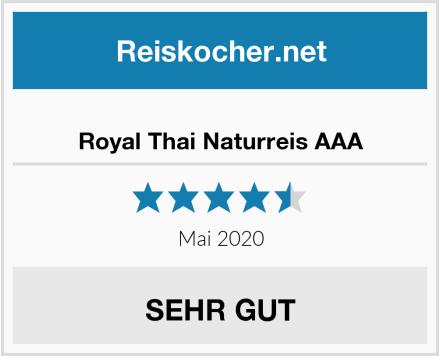 Royal Thai Naturreis AAA Test
