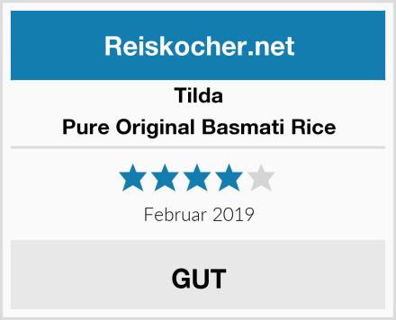 Tilda Pure Original Basmati Rice Test
