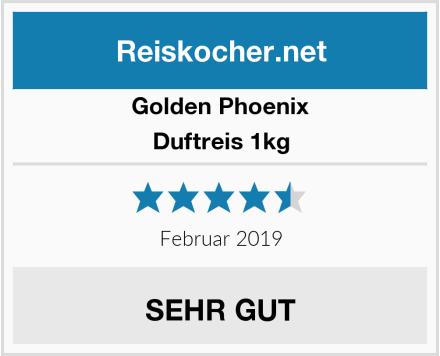 Golden Phoenix Duftreis 1kg Test