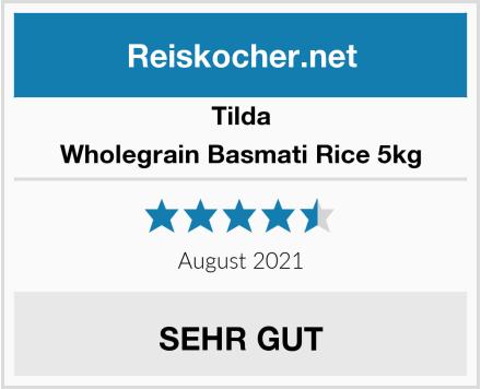 Tilda Wholegrain Basmati Rice 5kg Test