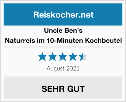 Uncle Ben's Naturreis im 10-Minuten Kochbeutel Test
