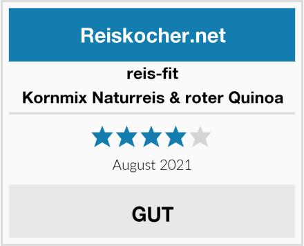 reis-fit Kornmix Naturreis & roter Quinoa Test