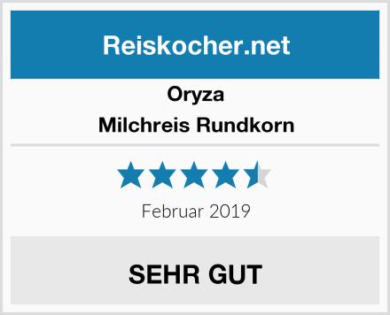 Oryza Milchreis Rundkorn Test