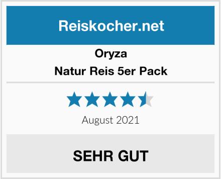 Oryza Natur Reis 5er Pack Test