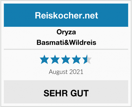 Oryza Basmati&Wildreis Test