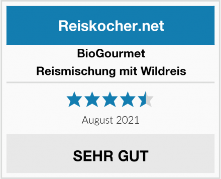 BioGourmet Reismischung mit Wildreis Test