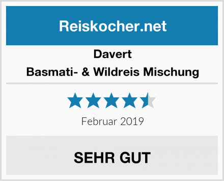 Davert Basmati- & Wildreis Mischung Test