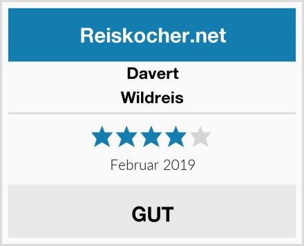 Davert Wildreis Test
