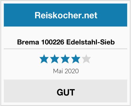 Brema 100226 Edelstahl-Sieb Test