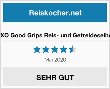 OXO Good Grips Reis- und Getreideseiher Test