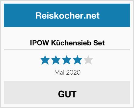IPOW Küchensieb Set Test