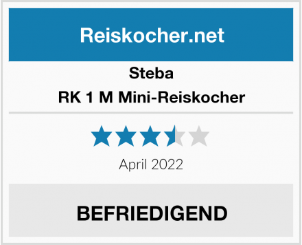 Steba RK 1 M Mini-Reiskocher Test