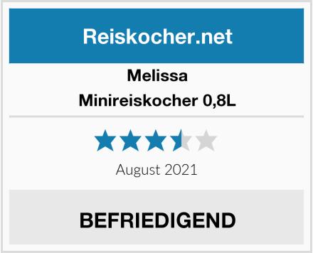 Melissa Minireiskocher 0,8L Test