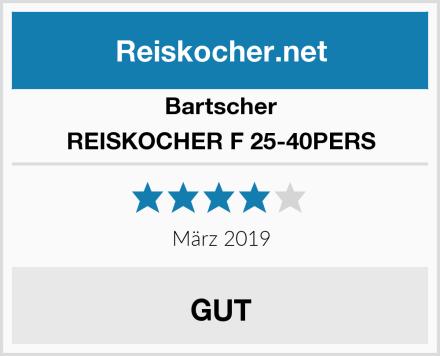Bartscher REISKOCHER F 25-40PERS Test