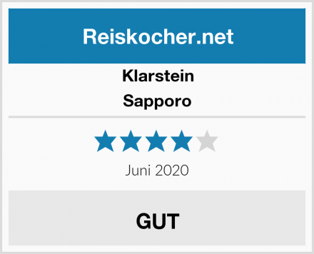 Klarstein Sapporo Test