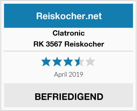 Clatronic RK 3567 Reiskocher Test