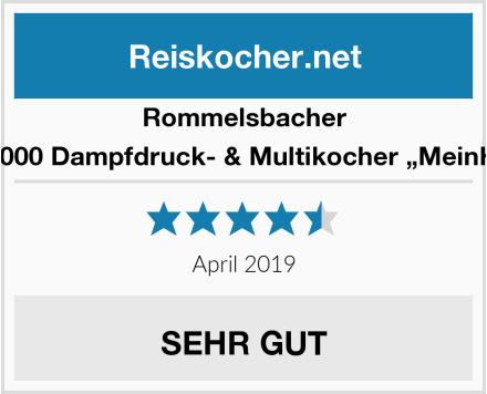 """Rommelsbacher MD 1000 Dampfdruck- & Multikocher """"MeinHans"""" Test"""