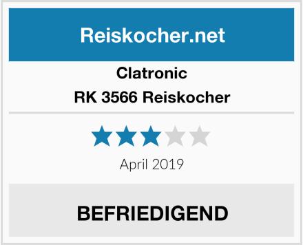 Clatronic RK 3566 Reiskocher Test