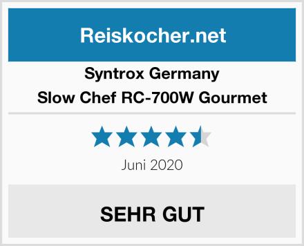 Syntrox Germany Slow Chef RC-700W Gourmet Test