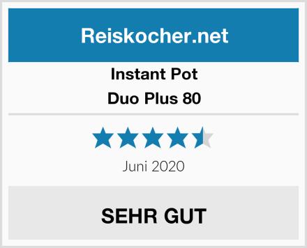 Instant Pot Duo Plus 80 Test