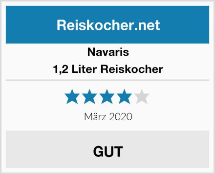 Navaris 1,2 Liter Reiskocher Test