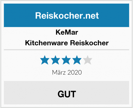 KeMar Kitchenware Reiskocher Test