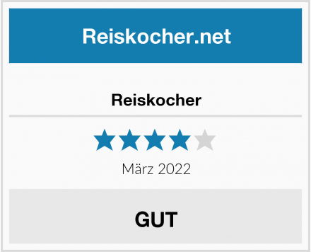 Reiskocher Test