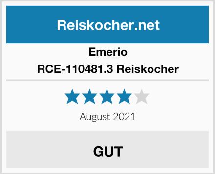Emerio RCE-110481.3 Reiskocher Test