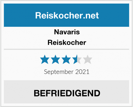 Navaris Reiskocher Test