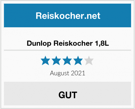 Dunlop Reiskocher 1,8L Test
