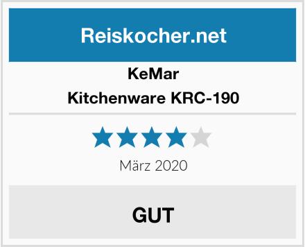 KeMar Kitchenware KRC-190 Test