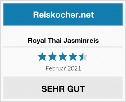 Royal Thai Jasminreis Test