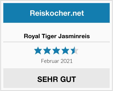 Royal Tiger Jasminreis Test