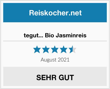 tegut... Bio Jasminreis Test
