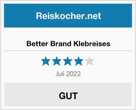 Better Brand Klebreises Test