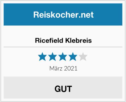 Ricefield Klebreis Test