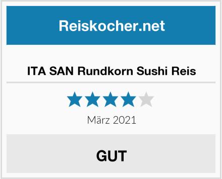 ITA SAN Rundkorn Sushi Reis Test