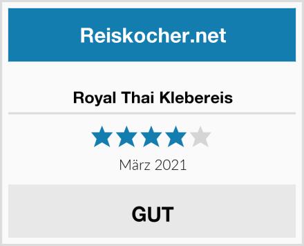 Royal Thai Klebereis Test