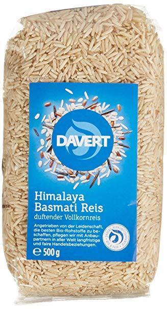 Davert Himalaya Basmati Reis braun