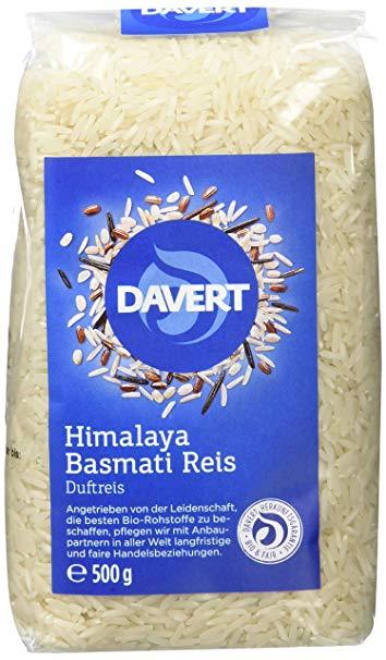 Davert Himalaya Basmati Reis weiß