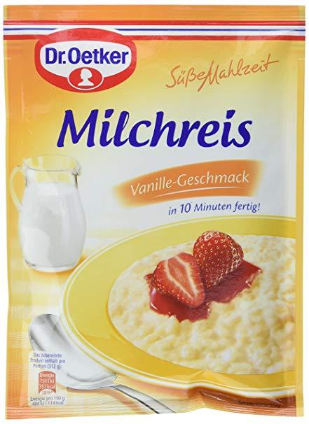 Dr. Oetker Milchreis Vanille-Geschmack