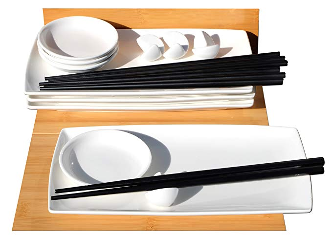 Gifts Of The Orient GOTO Sushi Geschirrset (4 Personen)