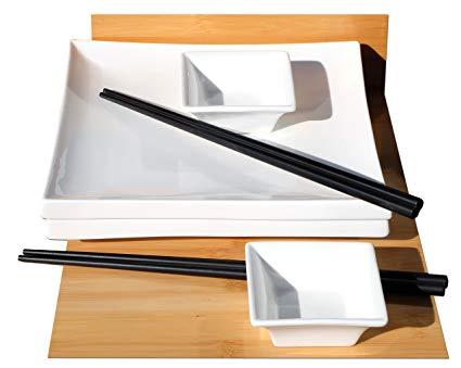 Gifts Of The Orient Sushi-Set für 2 im japanischen Stil