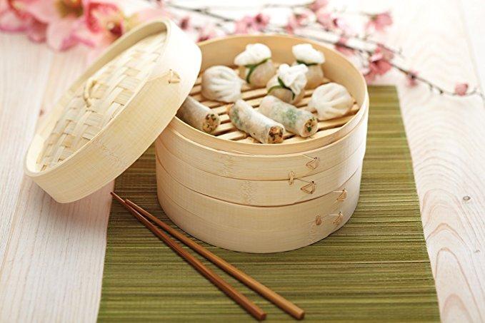 Kitchen Craft Pure Oriental Bambus Dampfkorb