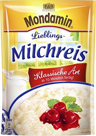 Mondamin Milchreis Klassische Art 3 Portionen
