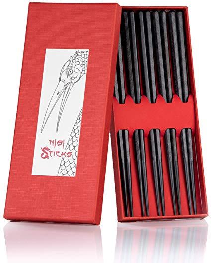 Chop Stick Life Nisi Premium Essstäbchen 5er Set