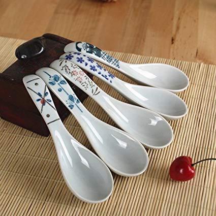 Debon Keramik Suppenlöffel Set