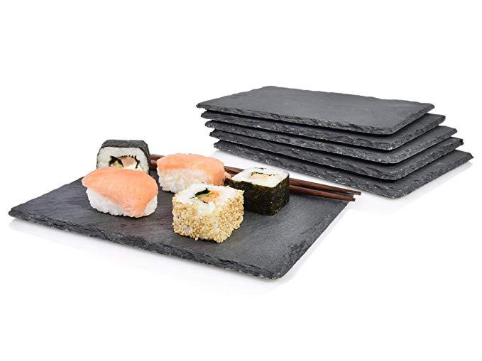 Sänger Schieferplatten Set 'Sushi' 6 teilig