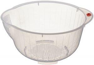 Reis-Waschschüsseln