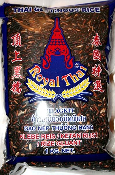 Royal Thai Klebereis schwarz